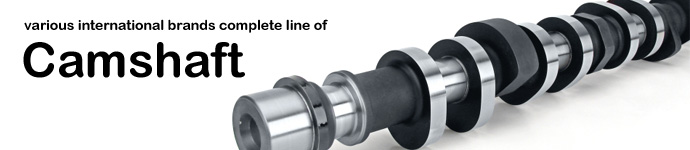 various international brands complete line of Camshaft