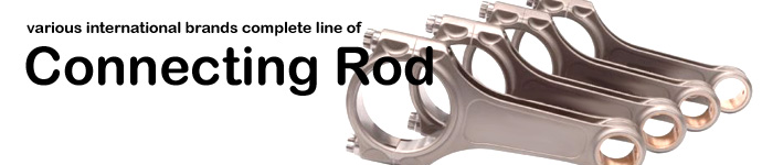 DPS offers various international brands complete line of Connecting Rod